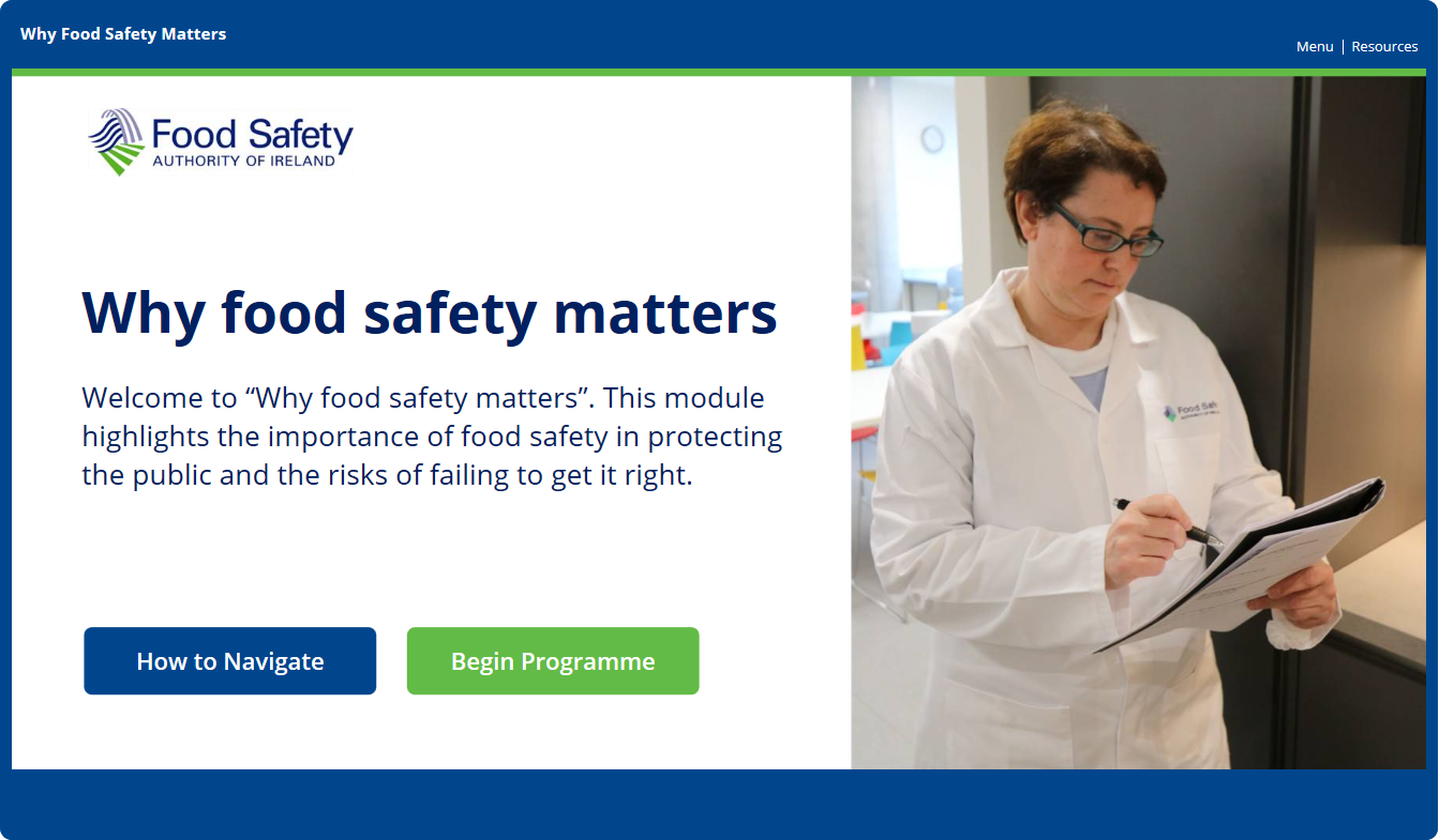 Why food safety matters