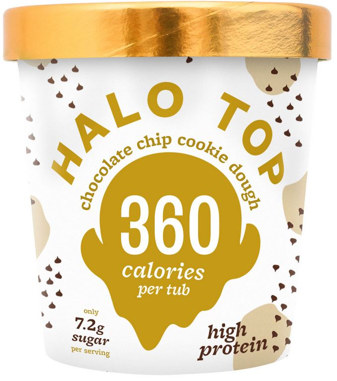 Halo Top Choc Chip Cookie Dough