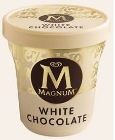 Magnum White Chocolate Ice Cream