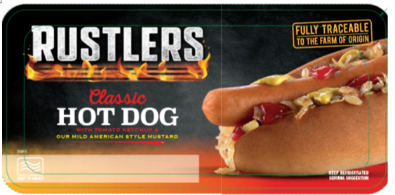 Rustlers Classic Hot Dog