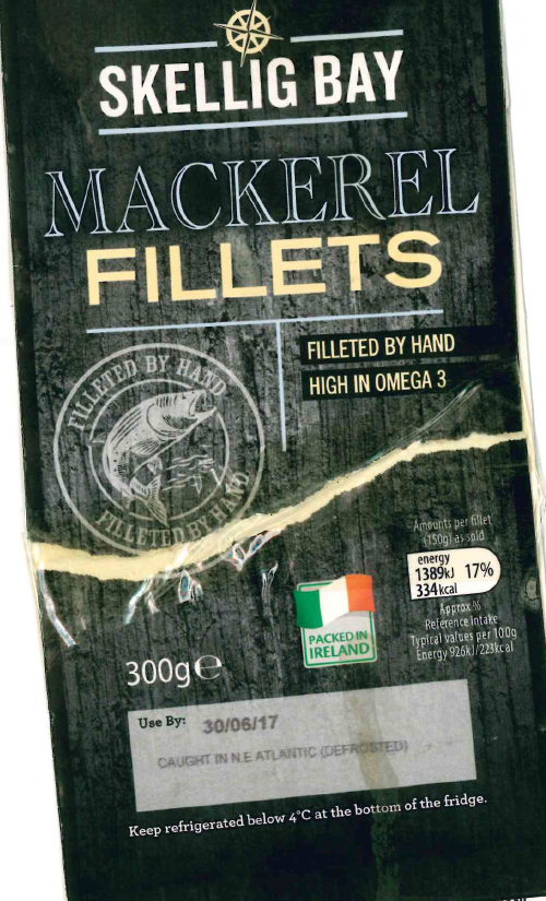 Aldi Front of Pack Label