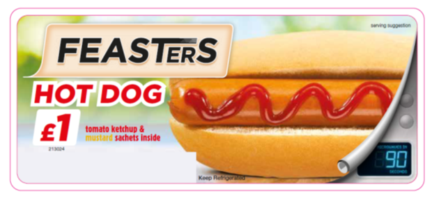 Feasters Hot Dog