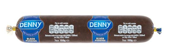 Denny Black Pudding Chubb