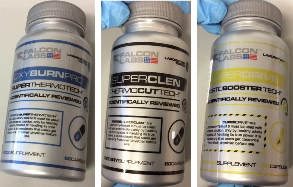 Recall of Falcon Labs Food Supplements due to Presence of