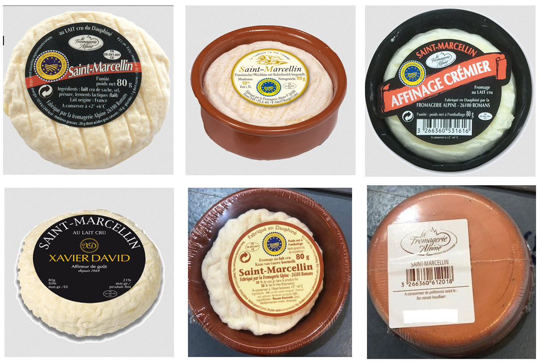 Photo of Saint Marcellin Cheeses