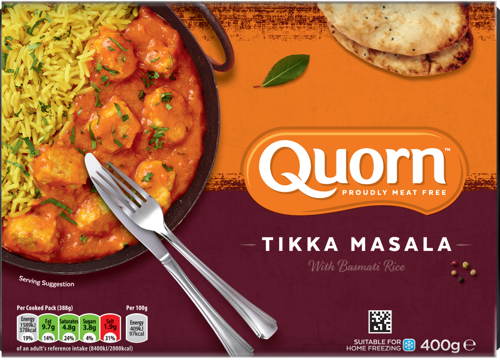Quorn Tikka Masala with Basmati Rice