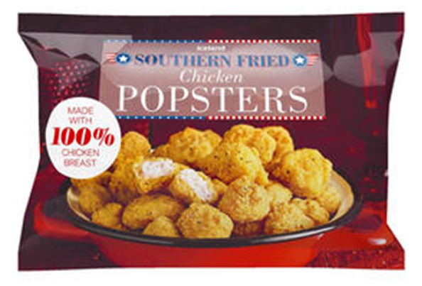 Iceland Southern Fried Chicken Popsters