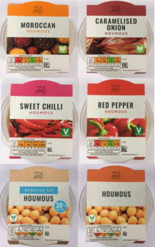 The Deli branded products
