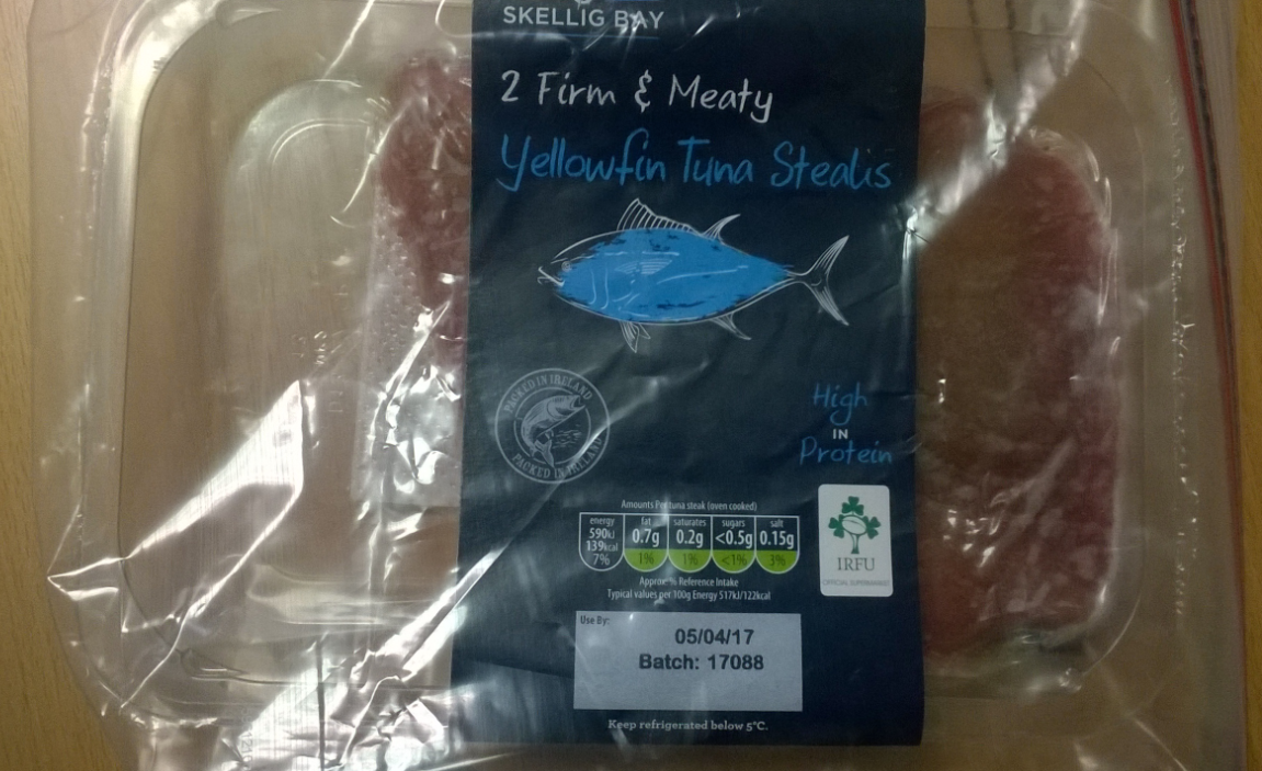 Skellig Bay Yellowfin Tuna Steaks