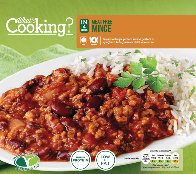Whats Cooking Meat Free Mince