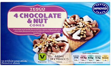 Tesco Ice cream